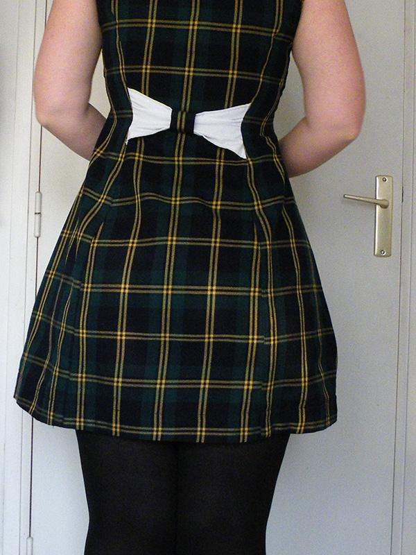 robe cousue par Audrey Dugas du Villard