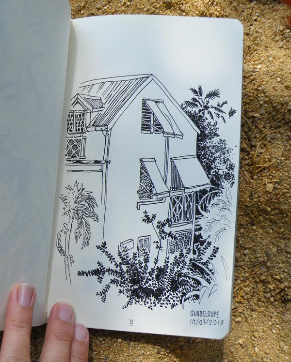 Croquis d'Audrey Dugas du Villard, Graphiste et illustratrice