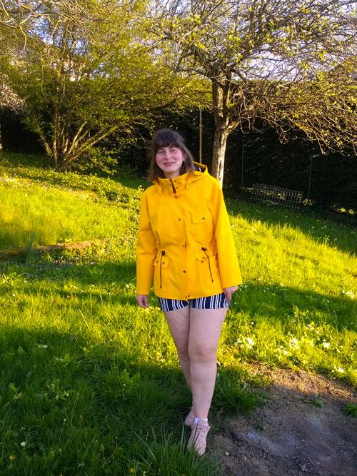Ciré jaune PaulineAlice, Serra Jacket